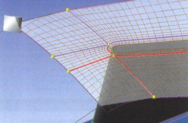 Блочная структура и внешний вид сетки